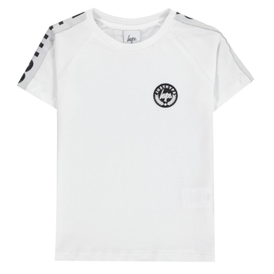 Tricou Hype Speckle Tape alb
