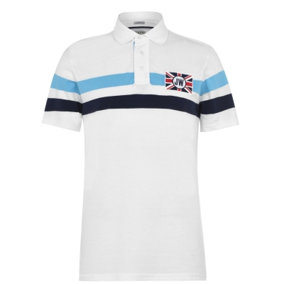 Tricouri Polo Jack Wills Barroway alb
