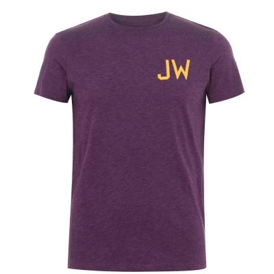 Tricouri Tricou cu logo Jack Wills Grendon - mov