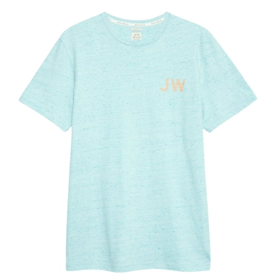Tricou Jack Wills Kingbridge urban crem albastru