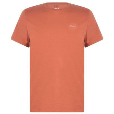 Tricou Jack Wills Sandleford clasic portocaliu