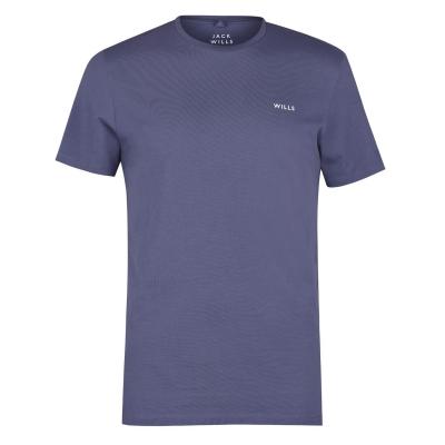 Tricou Jack Wills Sandleford clasic roz albastru