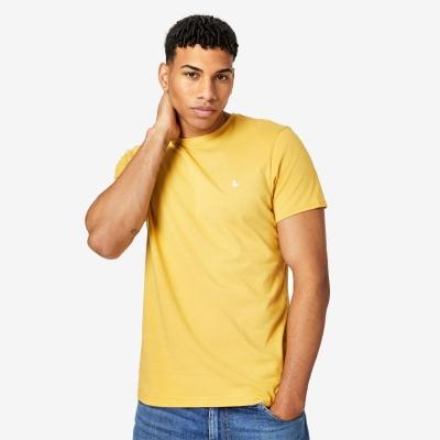 Tricou Jack Wills Sandleford clasic galben
