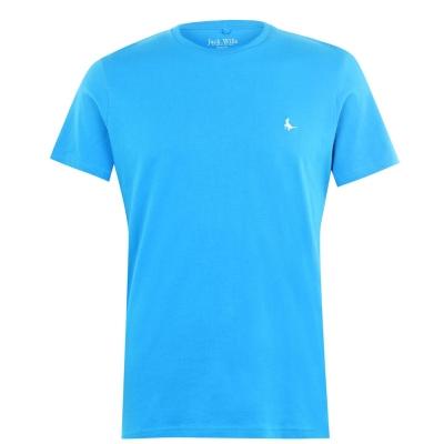 Tricou Jack Wills Sandleford clasic albastru aqua