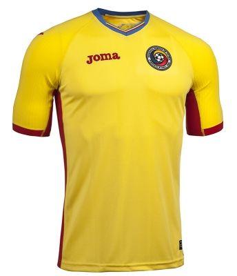 Tricou Joma 1 cu maneca scurta echipa nationala a Romaniei galben