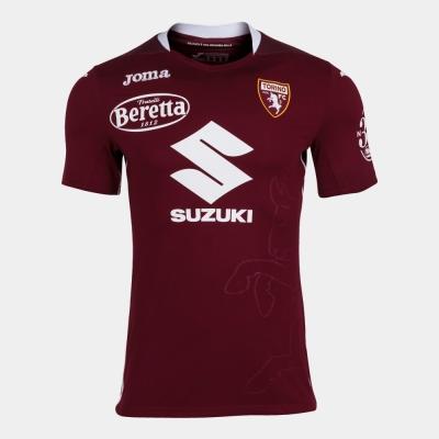 Tricou Joma 1st Torino visiniu cu maneca scurta -cu Logos- rosu burgundy