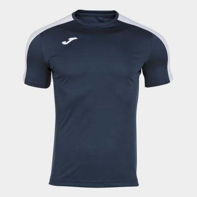 Tricou Joma Academy bleumarin inchis-alb cu maneca scurta