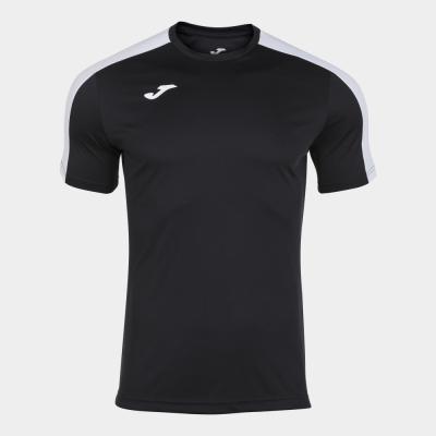Tricou Joma Academy negru-alb cu maneca scurta