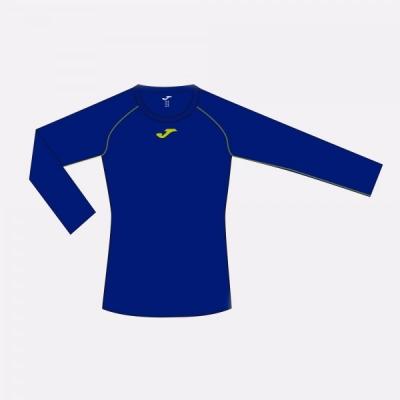 Tricou Joma Almanzor albastru-lime cu maneca lunga roial