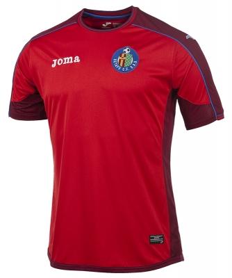 Tricou Joma Away Getafe Cf rosu-maroon cu maneca scurta