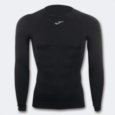 Tricou Joma Brama clasic Seamless negru cu maneca lunga