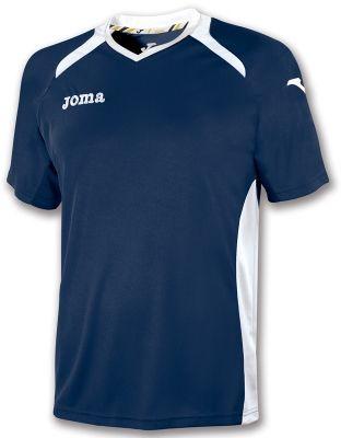 Tricouri Joma T- Champion II bleumarin-alb cu maneca scurta