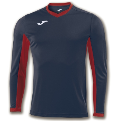 Tricou Joma Champion Iv bleumarin-rosu cu maneca lunga