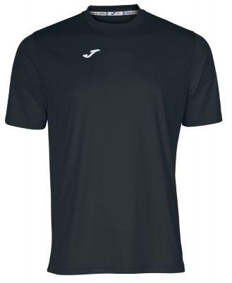 Tricouri Joma T- Combi negru cu maneca scurta