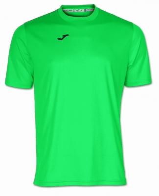 Tricouri Joma T- Combi verde Fluor cu maneca scurta fosforescent