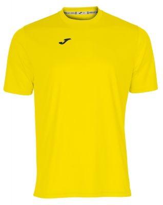 Tricouri Joma T- Combi galben cu maneca scurta