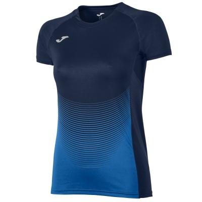 Tricou Joma Elite Vi bleumarin-royal cu maneca scurta pentru Femei albastru roial