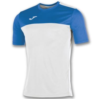 Tricouri Joma T- Winner alb-royal cu maneca scurta albastru roial