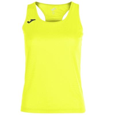 Tricou Joma Race galben-fluor fara maneci pentru Femei