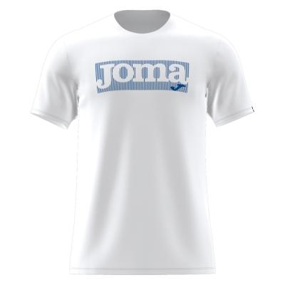 Tricou Joma Gamma cu Maneca Scurta alb