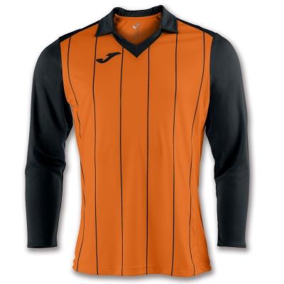 Tricou Joma Grada Orange-negru cu maneca lunga portocaliu