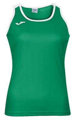 Tricou Joma Katy verde-alb fara maneci