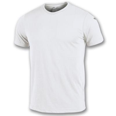 Tricou Joma Combi bumbac alb cu maneca scurta