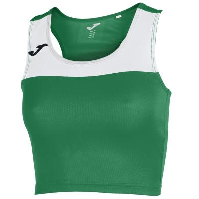 Tricou Joma Race verde-alb fara maneci pentru Femei albastru inchis