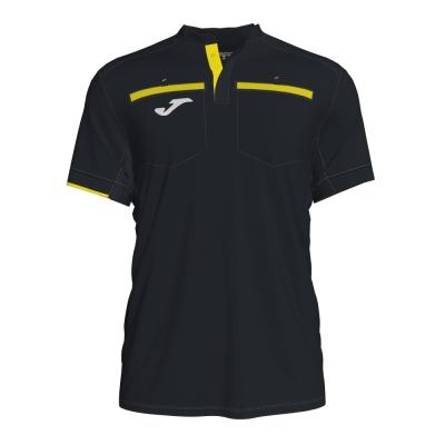 Tricou Joma Referee negru cu maneca scurta
