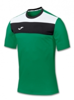 Tricou Joma sport Crew II verde cu maneca scurta