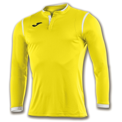Tricou Joma Toletum galben cu maneca lunga