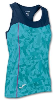 Tricou Joma Venus Turquoise-navy fara maneci turcoaz