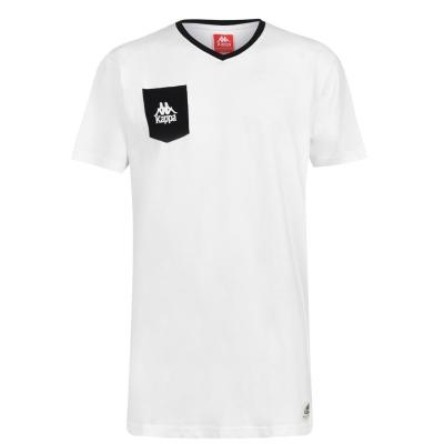 Tricou Kappa Ascoli pentru Barbati alb