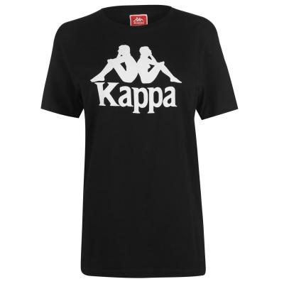 Tricou Kappa Estessi negru alb