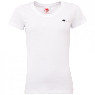 Tricou Kappa Halina alb 308000 11-0601 pentru femei