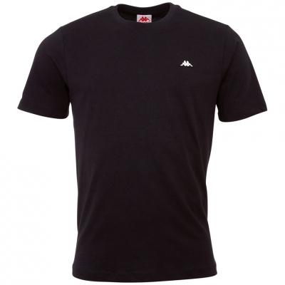 Tricou Kappa Hauke  negru 308010 19-4006 pentru Barbati
