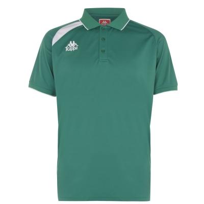Tricou Kappa Palla verde alb