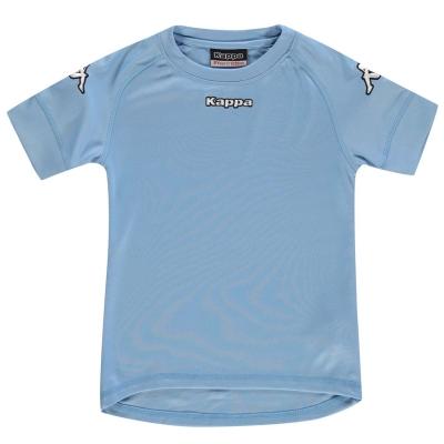 Tricou Kappa Pomezia deschis albastru