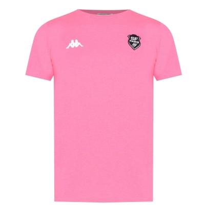 Tricou Kappa Stade Francais pentru Barbati roz