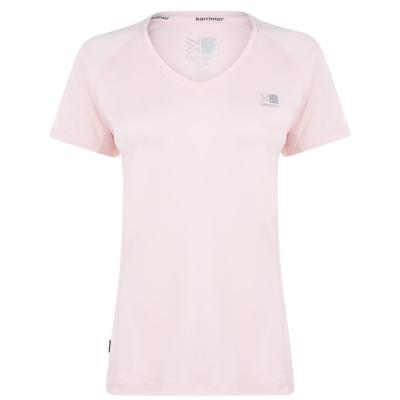 Tricou Karrimor cu Maneca Scurta Run deschis roz