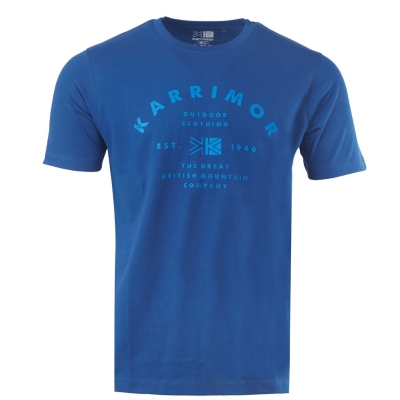 Tricou Karrimor Organic pentru Barbati albastru