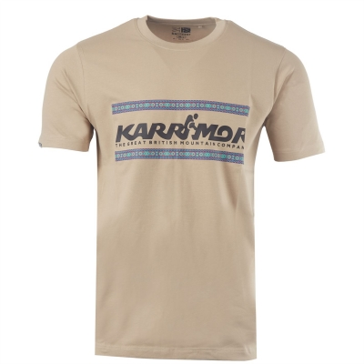 Tricou Karrimor Organic pentru Barbati bej