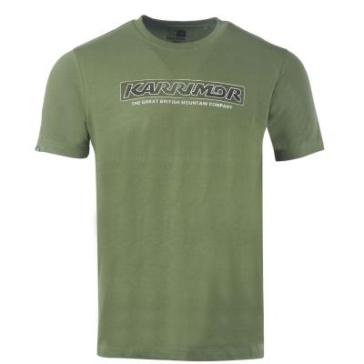 Tricou Karrimor Organic pentru Barbati kaki