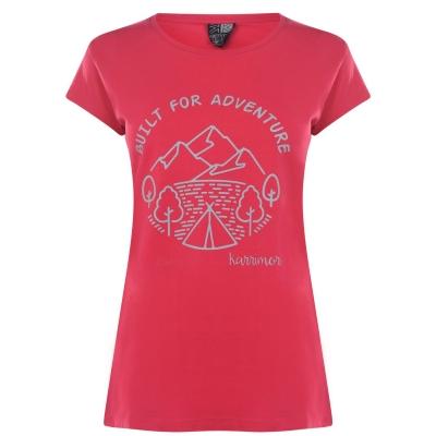 Tricou Karrimor Organic pentru femei roz inchis