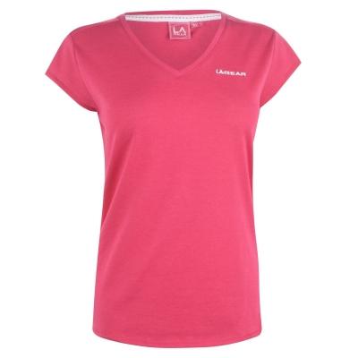Tricou LA Gear cu decolteu in V pentru Femei brt roz
