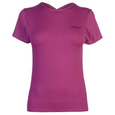 Tricou LA Gear Fitted pentru Femei roz
