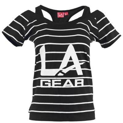 Tricou LA Gear Multi Layer pentru Femei negru