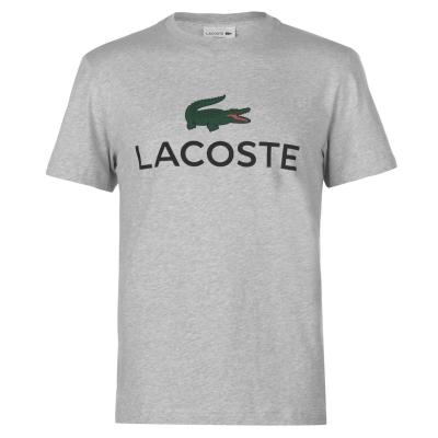 Tricou Lacoste Logo gri