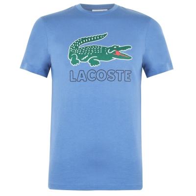 Tricou Lacoste Logo albastru