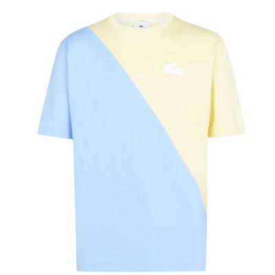 Tricou Lacoste Pastel multicolor 3gw